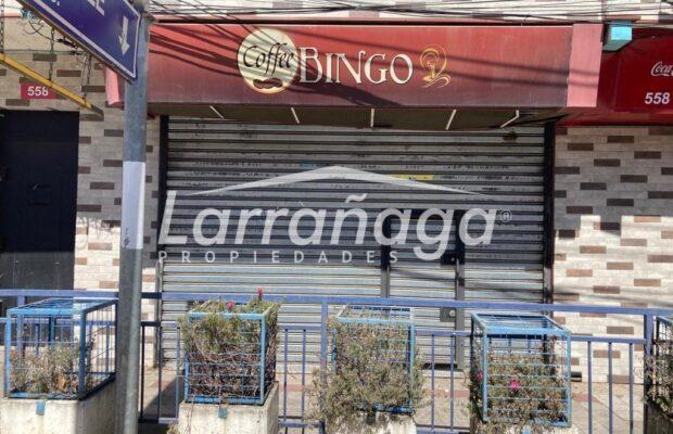 Arriendo Local Comercial (Ex Coffee Bingo)
